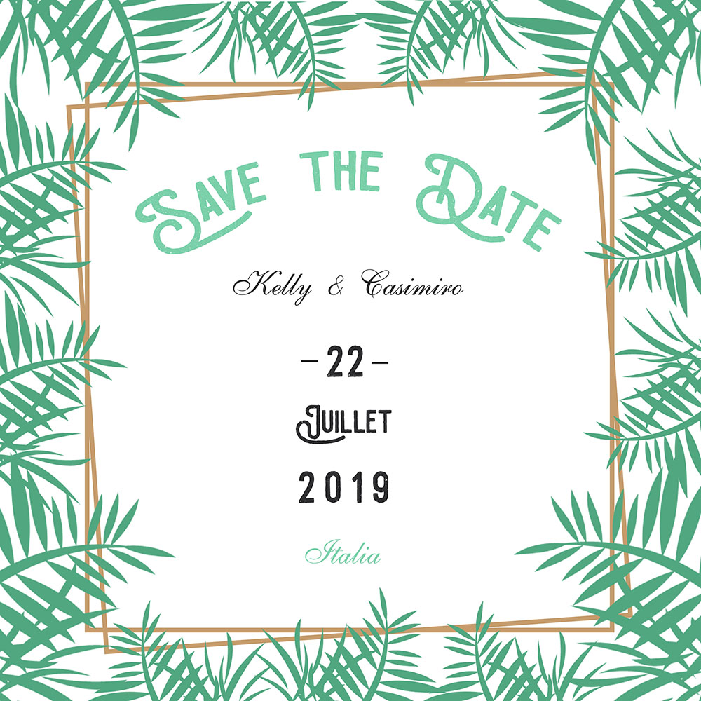 Faire part Save the Date